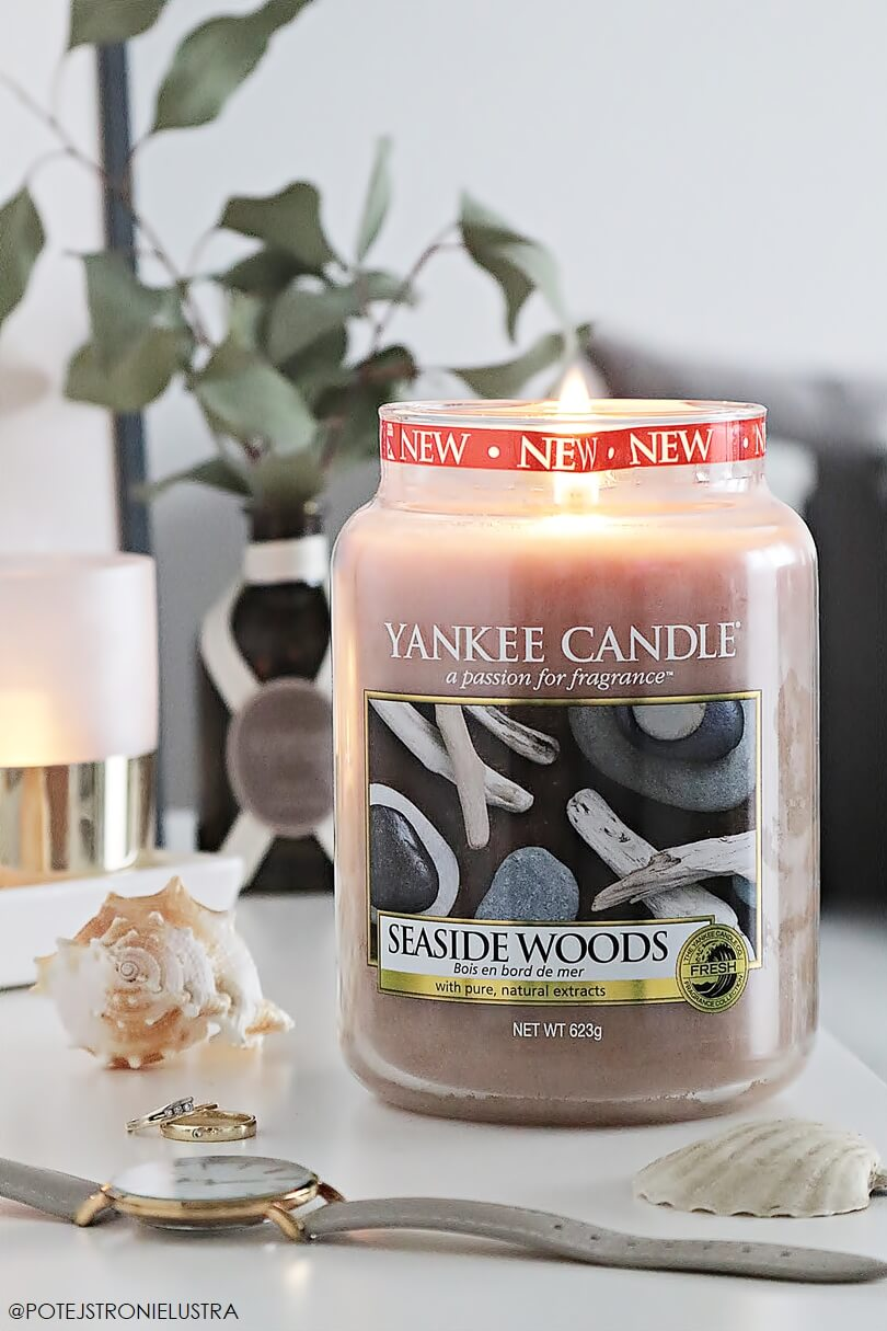 yankee candle seaside woods opinia blog