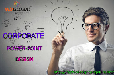 Corporate power point design in Bangalore