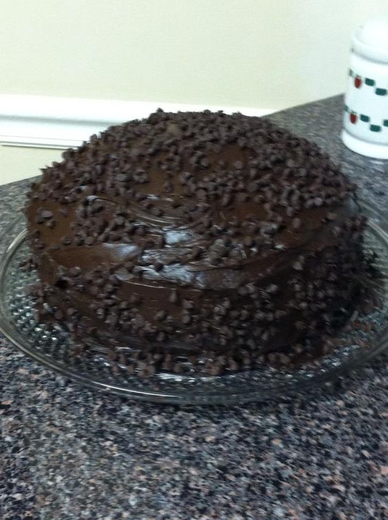 Red Lobster Chocolate Wave Cake Whole Cake