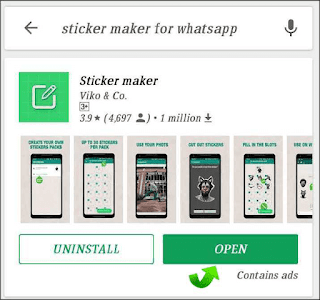 How to create your own  watsapp Stickers-1