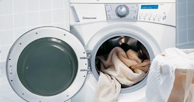 Hindari mencuci kaos dengan mesin cuci