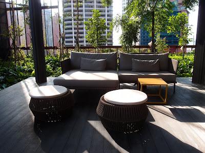 Oasia Hotel Downtown lobby