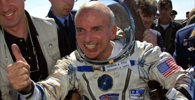 Dennis Tito, world's first space tourist. Credit: AFP