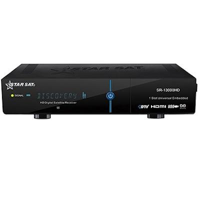 mise-jour(update) StarSat  SR-13000HD 06/08/2018