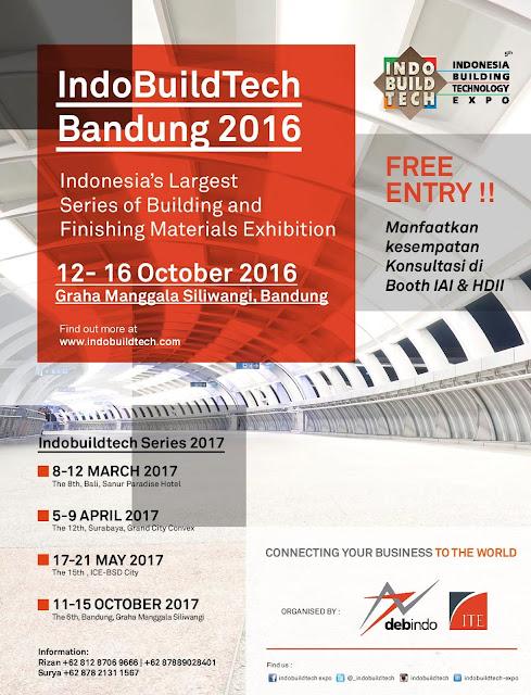 Indobuildtech Expo Bandung 2016