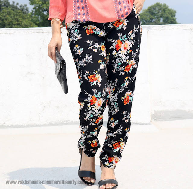 #Summerfashion with Oxolloxo, How to wear printed pants in summers, Summer fashion trends 2016