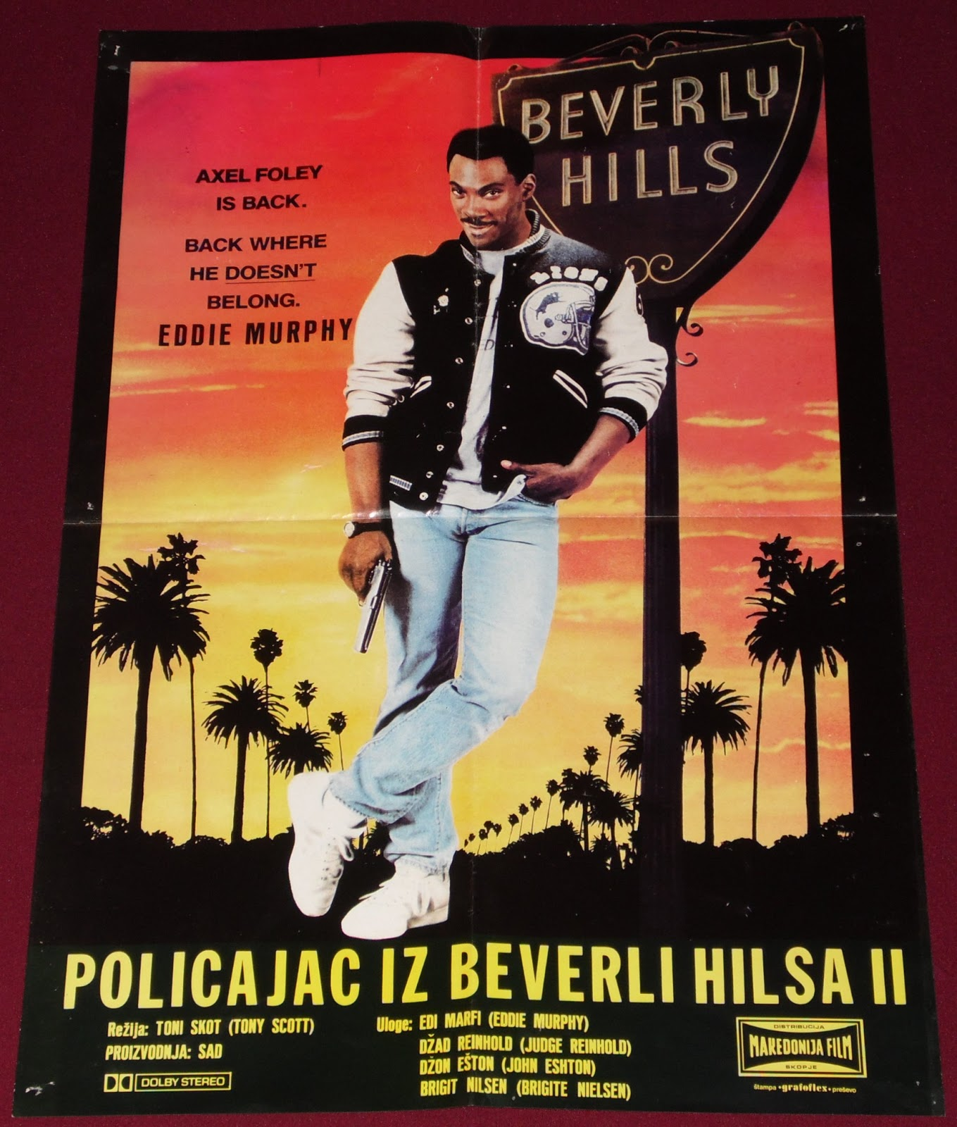 Yugorare Movie Posters Beverly Hills Cop Ii 1987