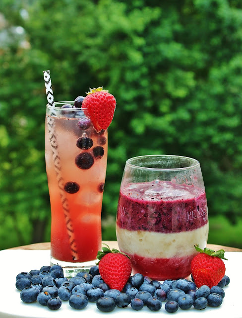 Whole30 Fourth of July Mocktails