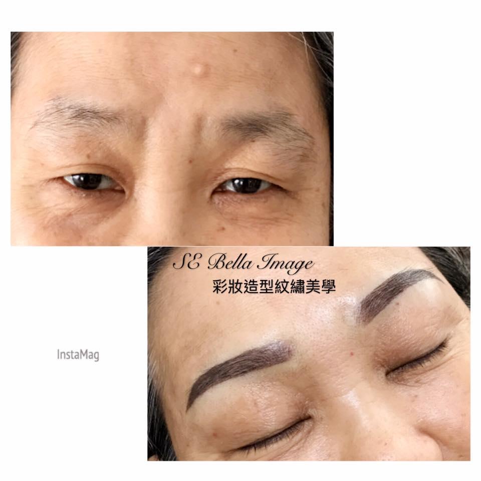 Semi Permanent Makeup 6d Korean Mist Eyebrow