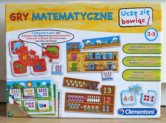 Gry matematyczne- prezent dla 4-5 latka