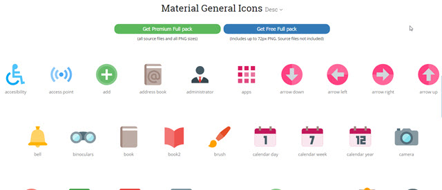 material-design-iconshock