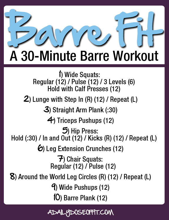 workout, barre, fitness, exercise at-home workout