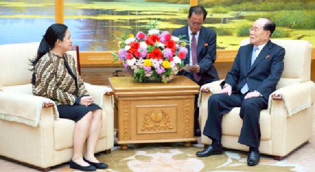 Menko PMK Sampaikan Undangan Asian Games Untuk Kim Jong Un
