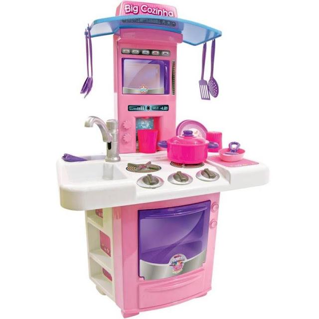 Cozinha Infantil Big Cozinha Fogãozinho Panelinha