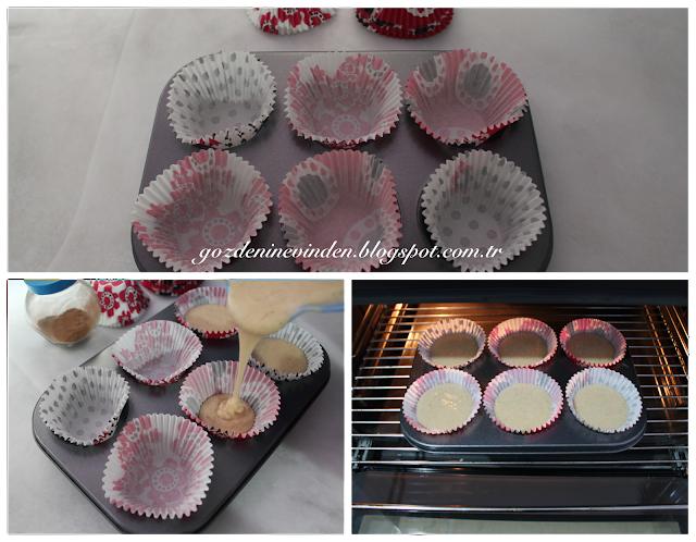 tarçınlı cupcake nasıl yapılır
