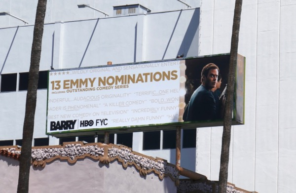 Barry 2018 Emmy nominee billboard