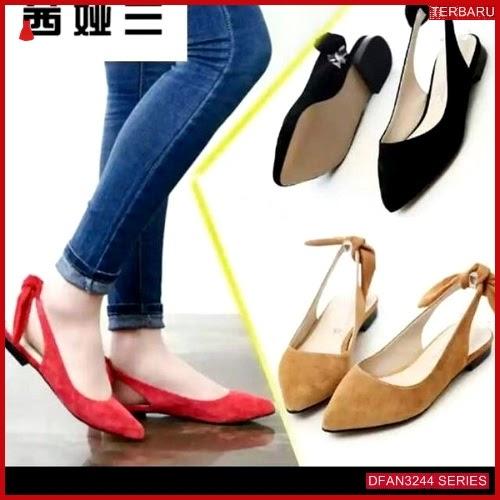 DFAN3244S38 Sepatu Nj 47 Flatshoes Wanita Kepang Sepatu BMGShop