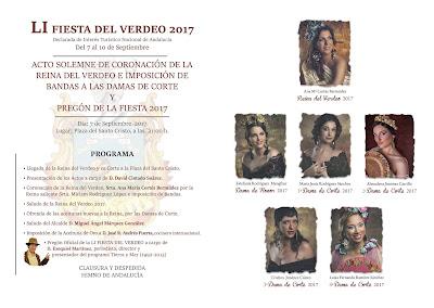 Arahal - Fiesta del Verdeo 2017 - Coronación y Pregón