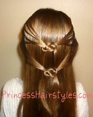 Pretzel Knot Hairstyle - Hairstyles For Girls - Princess Hairstyles