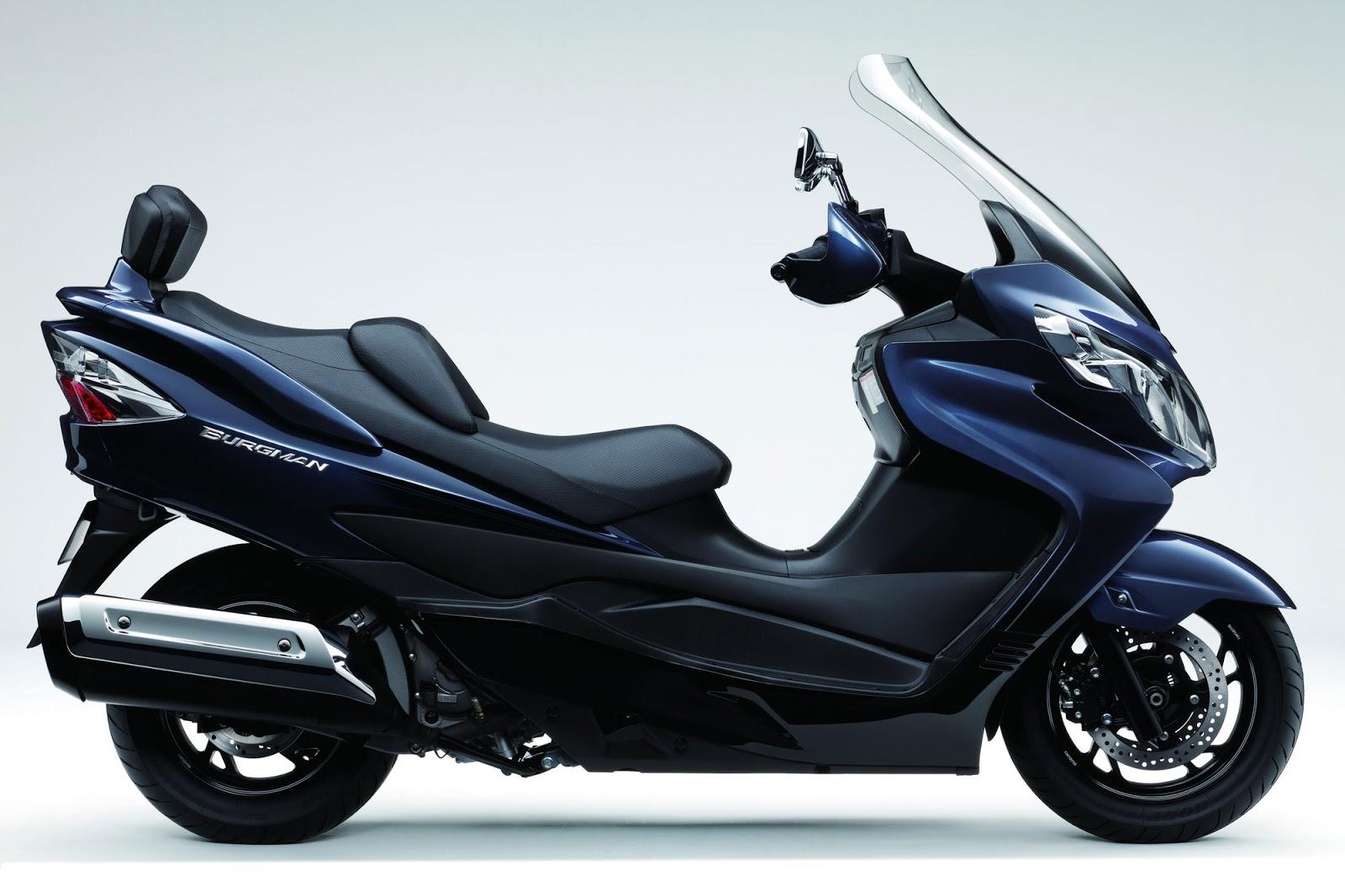latest motorbike 2013 suzuki burgman 400 abs review. Black Bedroom Furniture Sets. Home Design Ideas