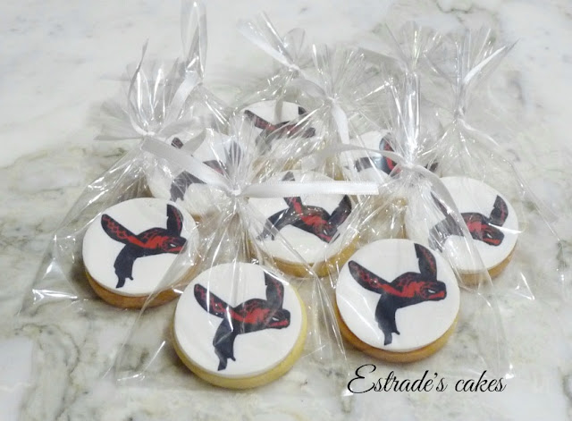 galletas decoradas con tortuga impresa 4