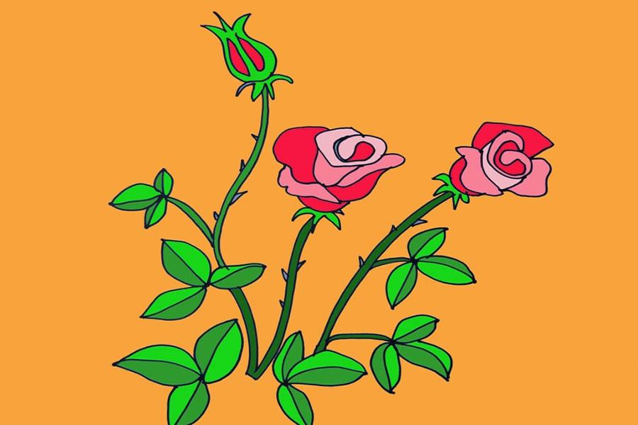 tranh mầm non chủ đề thực vật