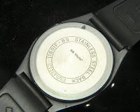 Casio F-85 - fondo della cassa