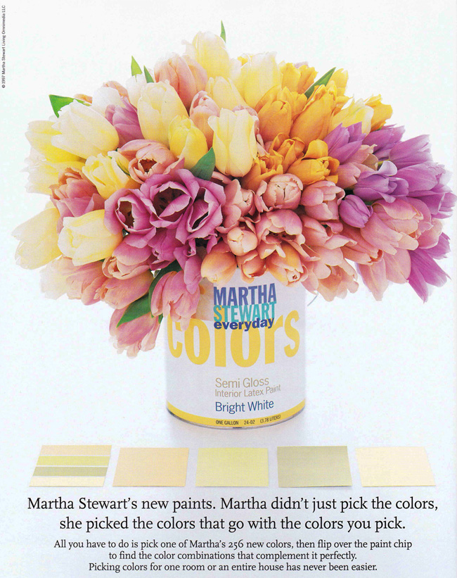 Martha Moments Remembering Paint