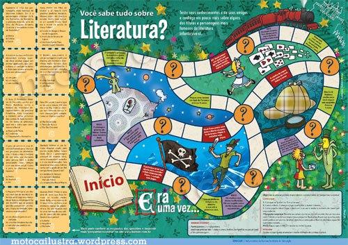 Gosto de Português: Jogos de Tabuleiro - Literatura Maker