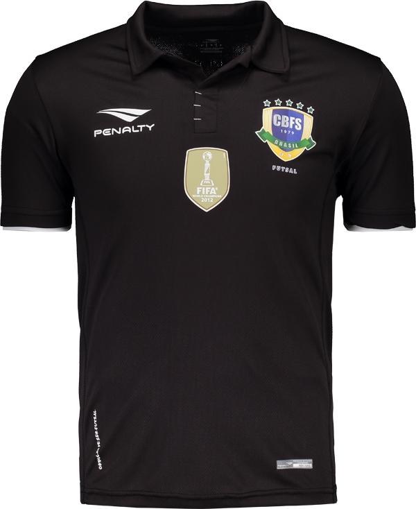 Penalty lança quarta camisa da Seleção Brasileira de Futsal. Após divulgar  os três uniformes ... 0d031bf2399f2