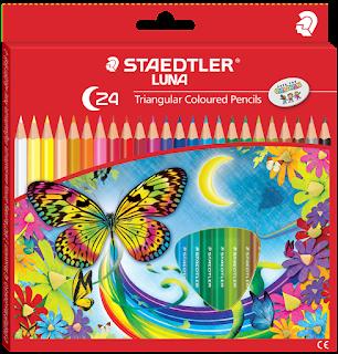 Pensil Warna Terbaik Untuk Anak adalah STAEDTLER