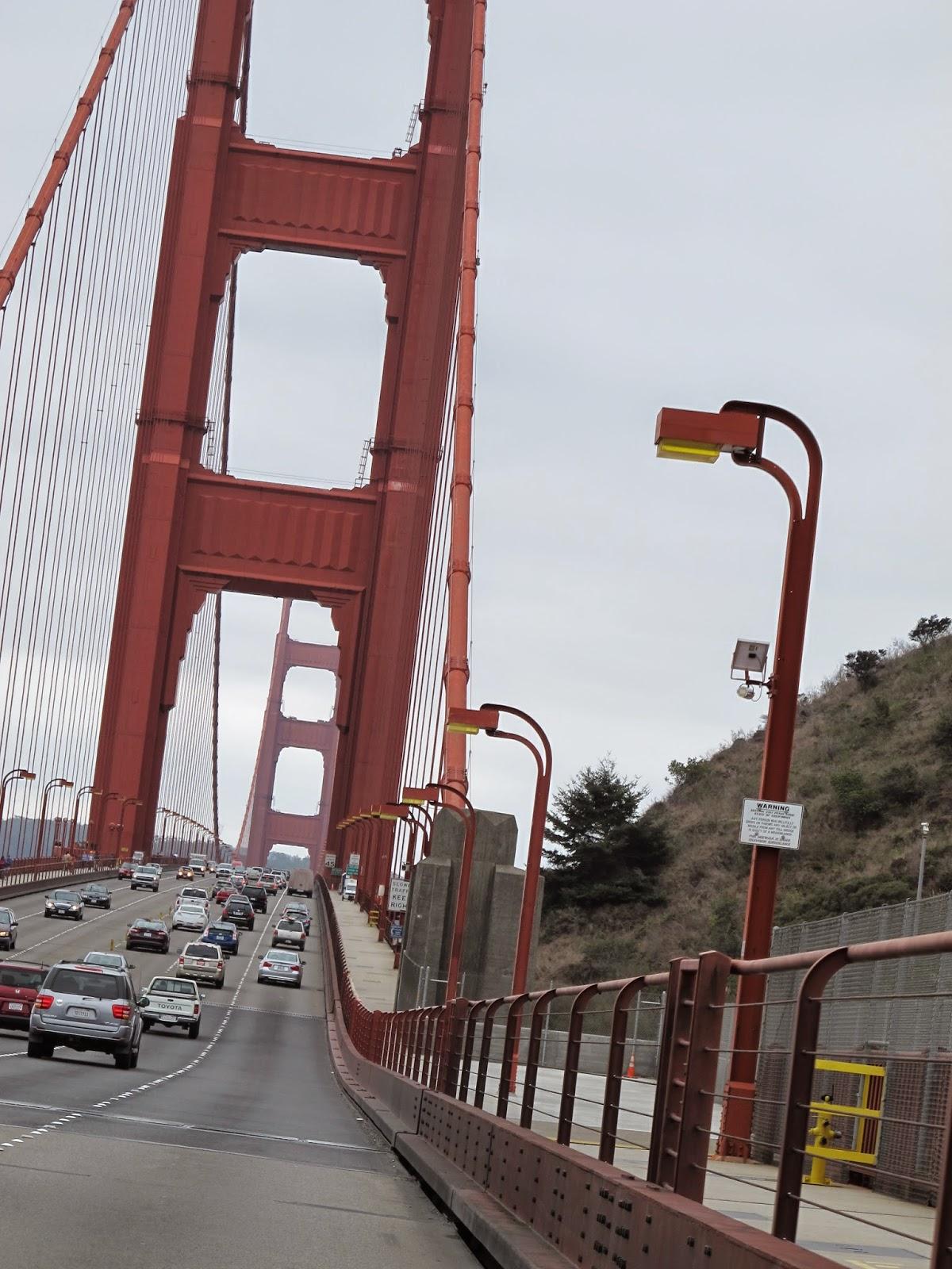 San Francisco gate e Bridge California com crianças