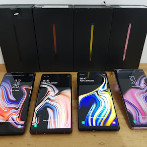 stok hp samsung note 9 bm original