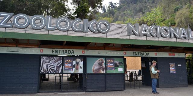 Parque Metropolitano em Santiago do Chile