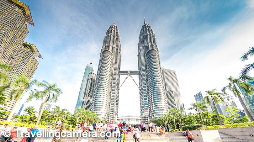 3.  Kuala Lumpur City Centre : I personally loved this place because it offers diversified experiences about the Kuala Lumpur city and Malaysia. If you like walking around the cities, this is a wonderful place.