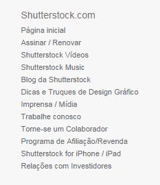 Vender fotos no Shutterstock - link torne-se um Colaborador