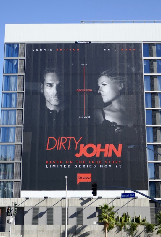 Giant Dirty John series launch billboard