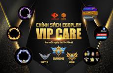 TẬN HƯỞNG ĐẶC QUYỀN VIP TỐI ƯU CÙNG EGOPLAY VIPCARE