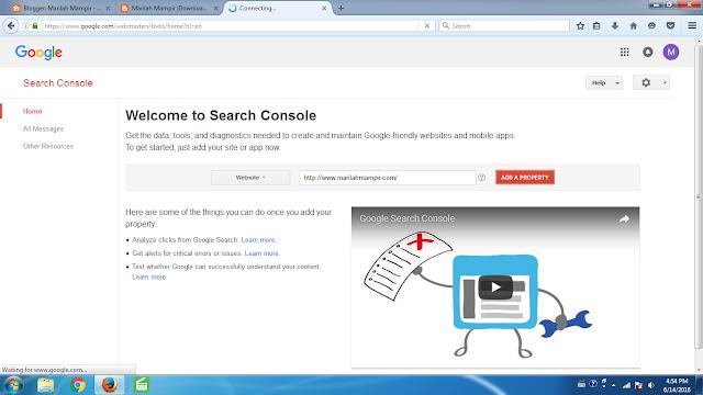 Cara Submit Sitemap Blog dengan Mudah ke Google Webmaster