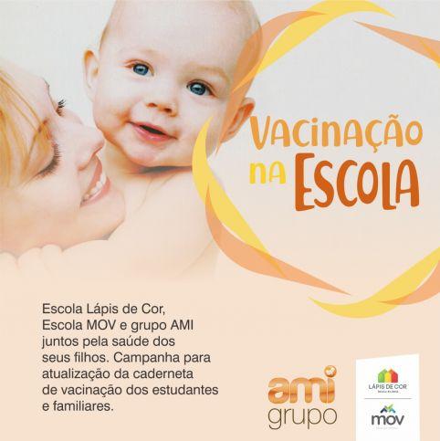 Escola de Natal e AMI lançam campanha 'Vacinação na Escola'