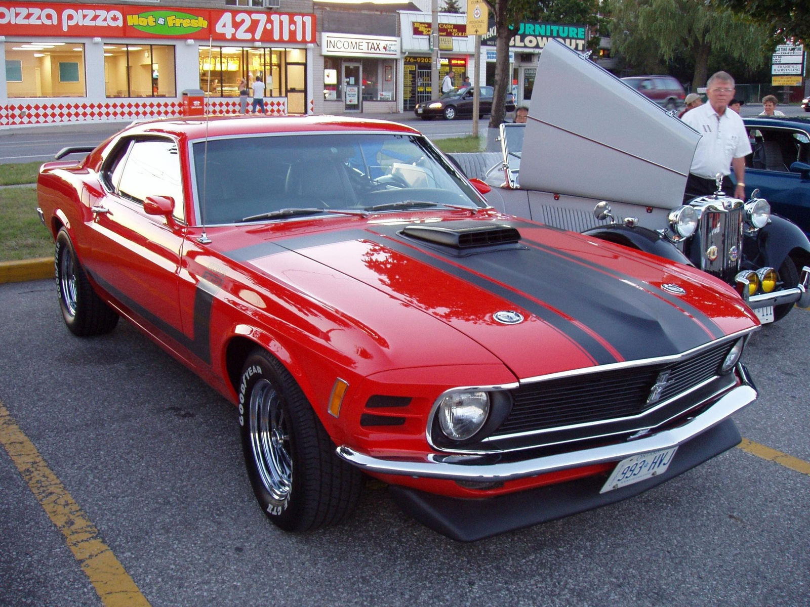 Ford Cars 1970 Ford Mustang Boss 302