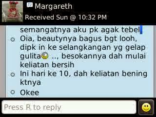 Testimoni Beauty Girl 6 Days Double Whitening