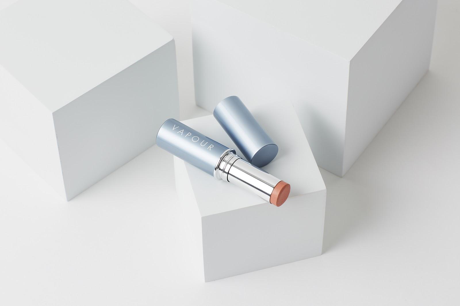 Vapour Organic Aura Multi-Use Blush in Spark review hellolindasau linda sau natural makeup brand