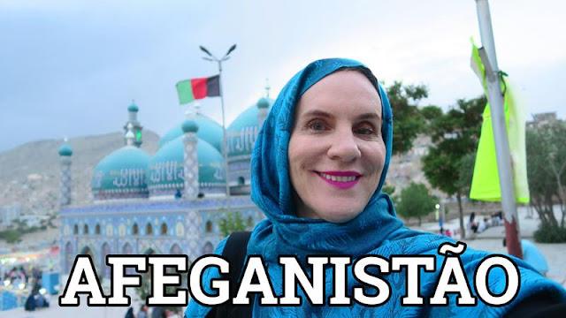 Mesquita em Cabul Afeganistão