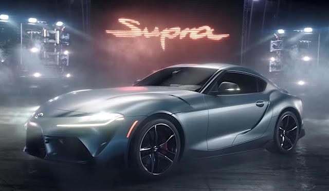 トヨタの新型「スープラ」の最新CMが「スーパーボウル」で公開!