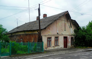 Ходоров. Старый деревянный дом по ул. Хмельницкого