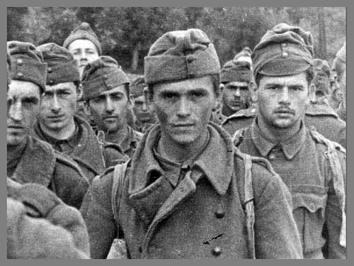 WW2 Hungarian soldiers at Voronezh-Russia1942