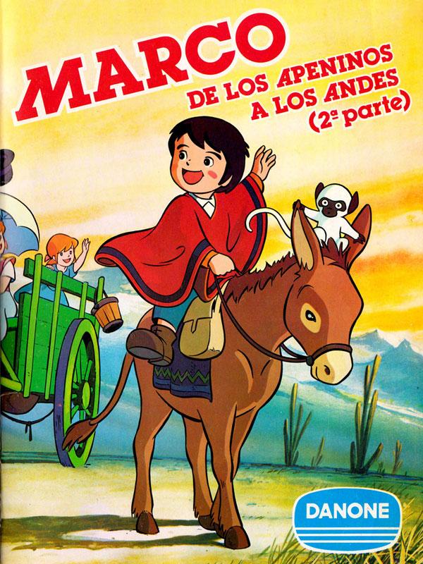 Album cromos Danone Marco de los Apeninos a los Andes 2