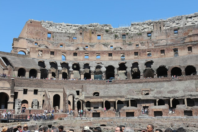 Inside Roman Arena at Verona
