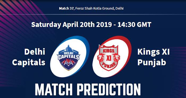 VIVO IPL 2019 Match 37 DC vs KXIP Match Prediction, Probable Playing XI: Who Will Win?